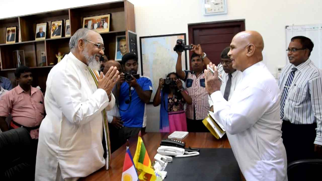 Wigneswaran takes over NP Agriculture, Education Ministries