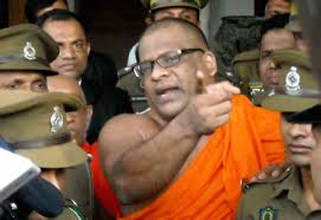 Gnanasara Thera arrested by Police Organised Crimes Division