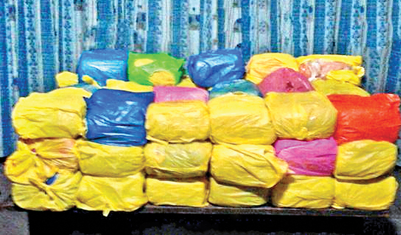 Two nabbed with Kerala cannabis