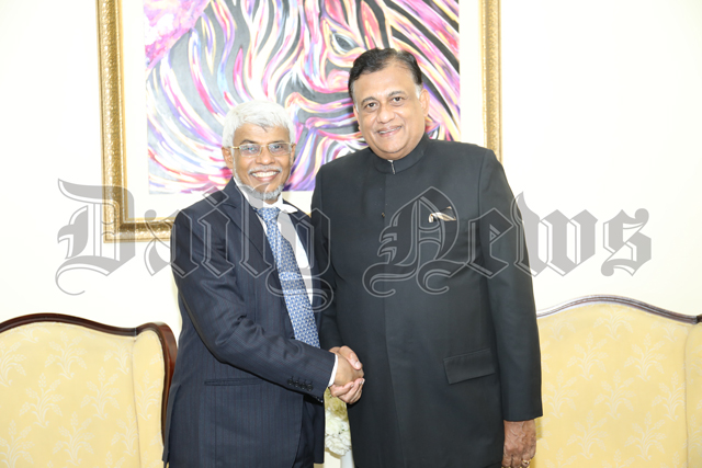 EP Chief Minister receives Rohitha Bogollagama, bids farewell to Austin Fernando