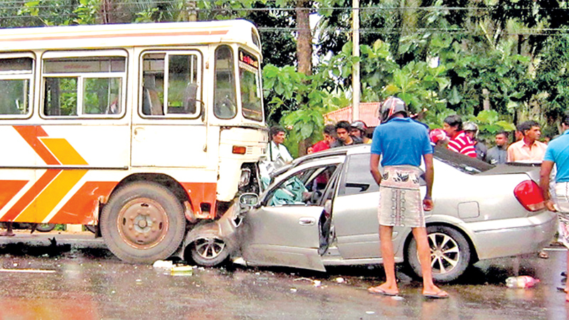 Eight die each day from road accidents
