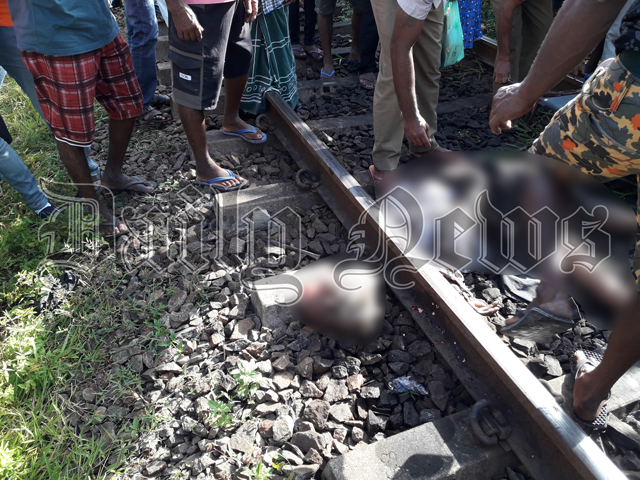 Seventy-six-year-old killed after being hit by train
