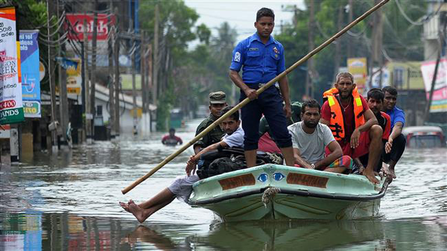 100 boats for disaster rescue operations