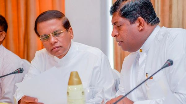 President rejects three Cabinet papers submitted by Ravi K.