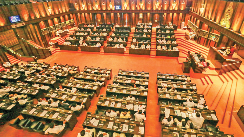 Parliament temporally suspended