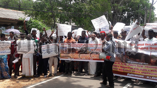 EPDP launches protest against halting housing project