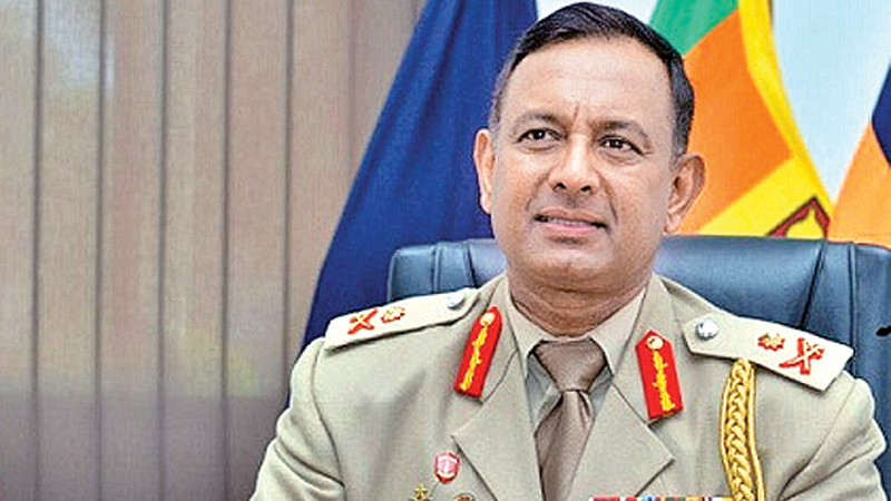 Maj. Gen Dampath Fernando appointed Deputy Chief of Staff
