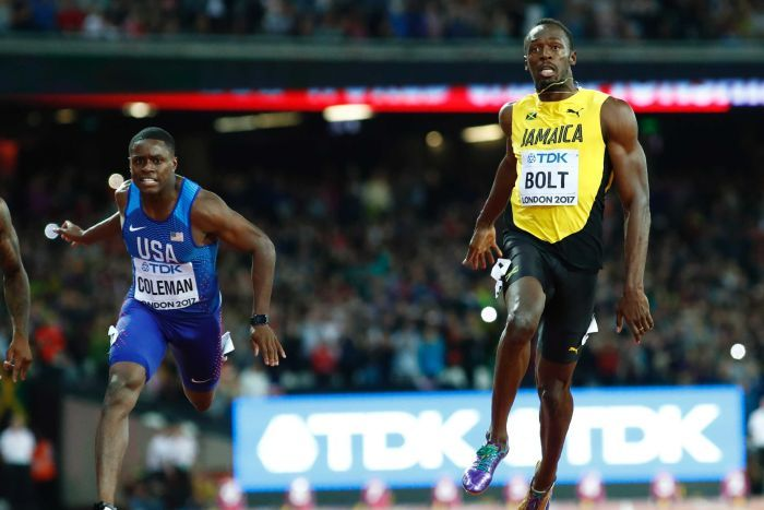 Bolt loses out to Gatlin and finishes third in 100m at world athletics championships