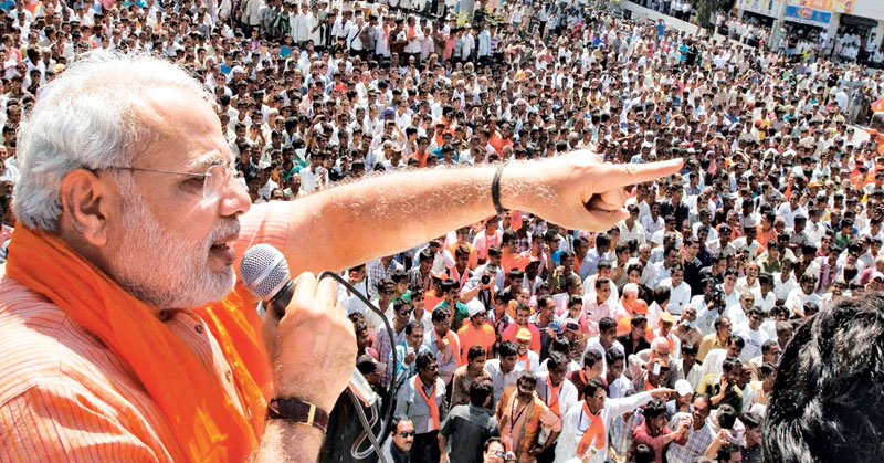 Indian Prime Minister Narendra Modi has brought a sea of change to Indian politics.