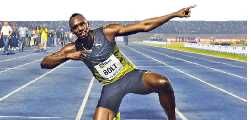 The famous Bolt lightning signature