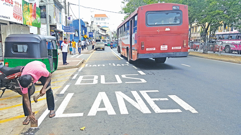 Two Bus Priority Lanes to commence operations today