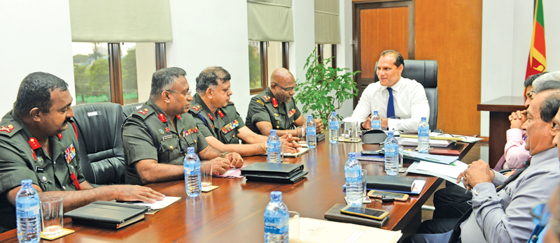 Army to assist sports development projects