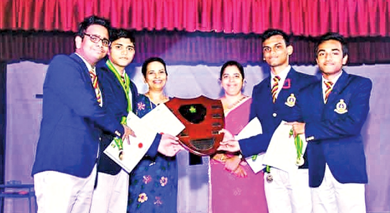 As the champion of All Island Debating Tournament
