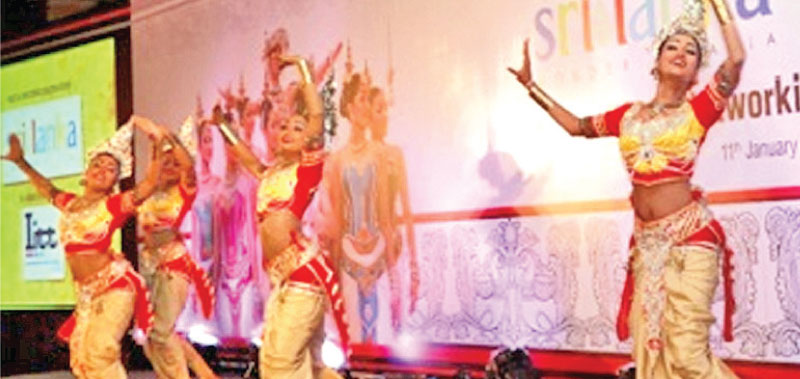 Cultural performances at the Sri Lanka evening