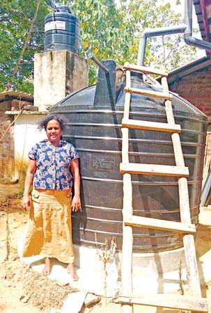 A rain water remedy : Living with CKDu | Daily News
