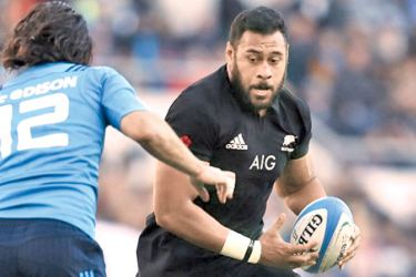All Blacks lock Patrick Tuipulotu.