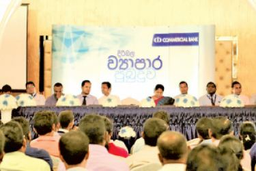 The programme in progress in Wennappuwa.