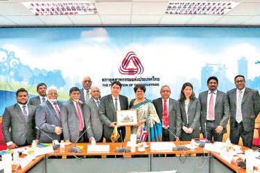 Sri Lanka – Thailand Business Council in Thailand meetings in progress