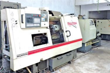 USA CINCINATI – FALCON Lathe Machine. Pictures by Diresh Jayasuriya