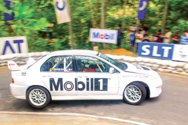 Dinesh Jayawardena recorded the best overall timing and best car timing at Eliyakanda Hill Climb 2017
