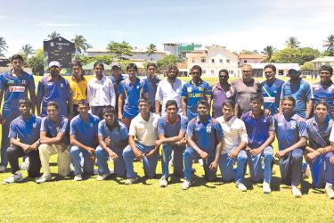 S Thomas' first XI cricket team
