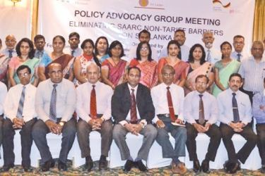 Participants at the NTM meeting.