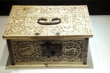 Ivory box made in Sri Lanka for King of Portugal
