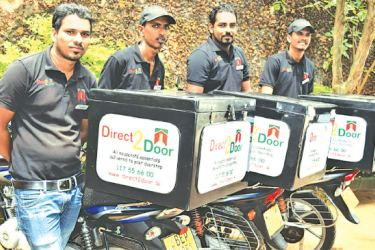 Direct2Door delivery team.
