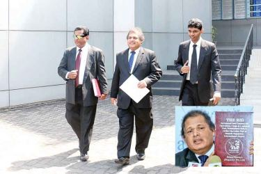 Gamini Wethasinghe, Managing Director Peace Air at the Human Rights  Commission yesterday. Photo Courtesy: www.avast.com