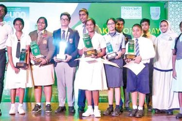 The Finalists of the Young Speaker