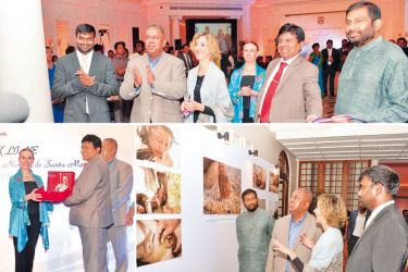 Vignettes of the event. Pictures by Chintaka  Kumarasinghe