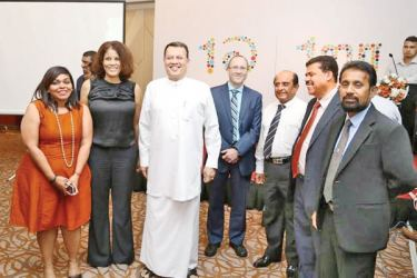 Skills Development and Vocational Training Minister Mahinda Samarasinghe, Claude Goulet from the Canadian High Commission and other key stakeholders involved in this initiative.