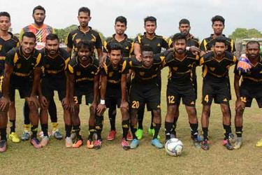 Colombo FC: M. R. Mohideen (Captain), M.N.M. Imran, M. H. M. Rameez, M. A.A. Mohamed, M. N. Nagoor Meera, B. G. A. D. K. de Silva, H. V. N. Kanishka, M. Z. Johar, M. S. Jein, M. N. A. Mohamed, Afis Olayemi, K. A. D. Mudusanka