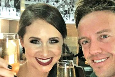 AB de Villiers with his wife Danielle.