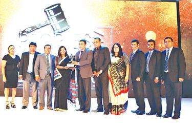 Commercial Department of INSEE cement at the awards presentation