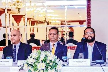Sri Lanka Institute of Marketing officials at the inauguration.