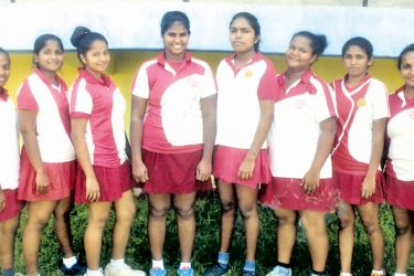 Under – 20 champions Holy Family Convent, Kalutara