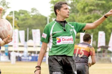Referee Dinka Peiris