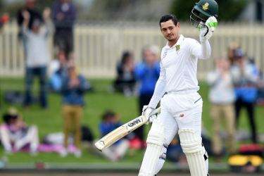 Quinton de Kock bagged five titles at the South  African  annual awards