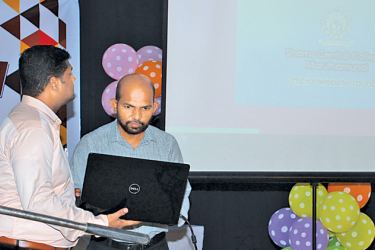 Website of SPPA launched by Dr. SM. Junaideen (Dean – Faculty of Engineering, SEUSL) and Suhail Jamaldeen (Software Engineer)