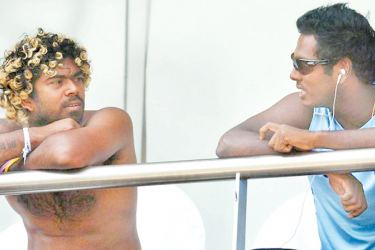Lasith Malinga, a key figure in captain Angelo Mathews' plans towards winning the ICC Champions Trophy in England.