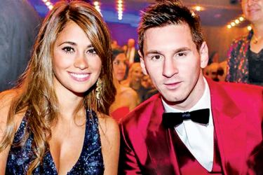 Lionel Messi will marry Antonella Roccuzzo.