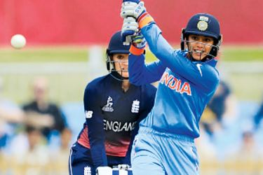 India's Smriti Mandhana who hit a brilliant 90 against England in their Women's World Cup opener at Derby.