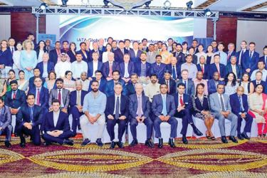 SriLankan Aviation College officials and the delegates of IATA Global Training Partner Conference 2017
