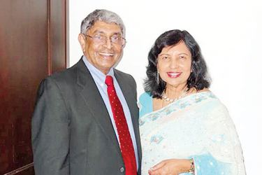 Dr Cyril Ernest and wife Indrani will be the chief guests at the Benedictine Prize Giving on Friday.