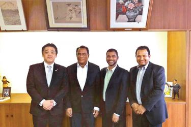 Evolve Technologies team in Japan