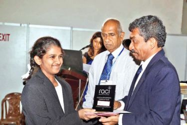 Australian National Chemistry Quiz Award ceremony, 2016 was held at the Sri Lanka Exhibition and Convention Centre on January 27, Chief Guest was Ruwan Gallage, President OPA.