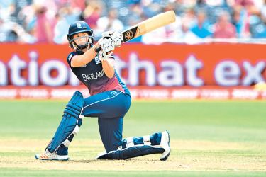 Katherine Brunt followed up an unbeaten 43-ball 45 with figures of 2 for 42 in nine overs
