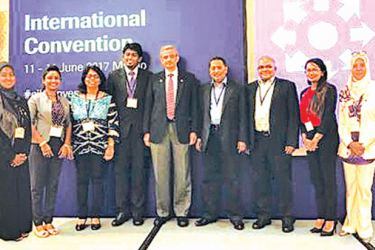 CILT Sri Lanka delegation for the CILT Convention in Macao
