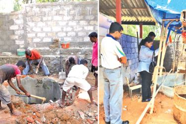 Moragahahena Maha Vidyalaya in Horana, an example of many schools in the outskirts of Colombo that experience a severe lack of water and where the community is  joining hands to make a difference.